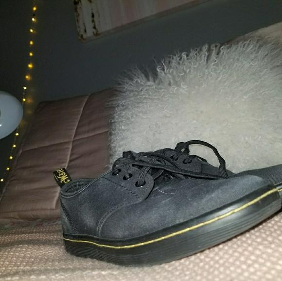 Dr Doc Martens Womens Belmont Chukka Short Black Canvas Boot Shoe 5 Eye US 6   eBay